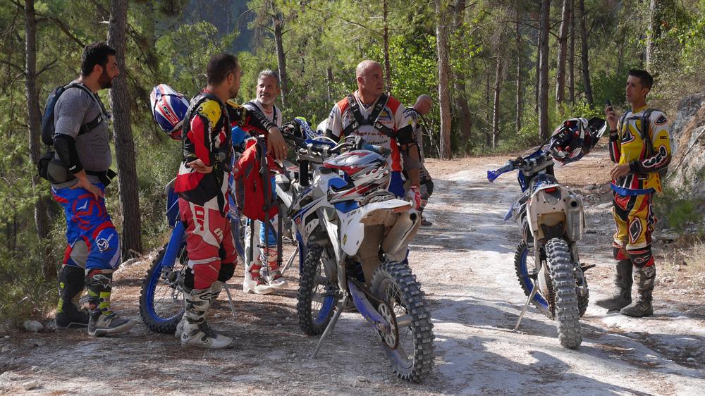 תמונה של טיול מועדון TM RACING ביערות מנשה