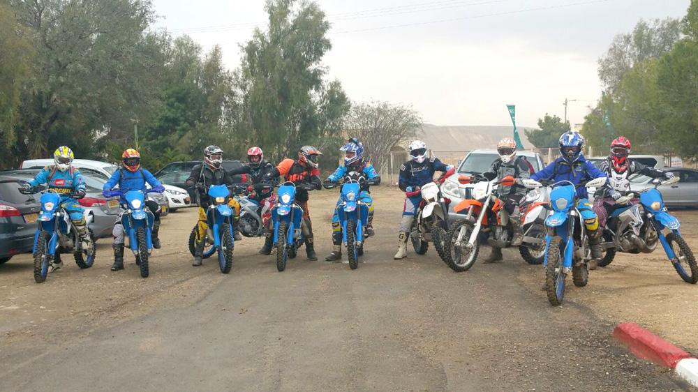תמונה של טיול מועדון TM RACING במכתש