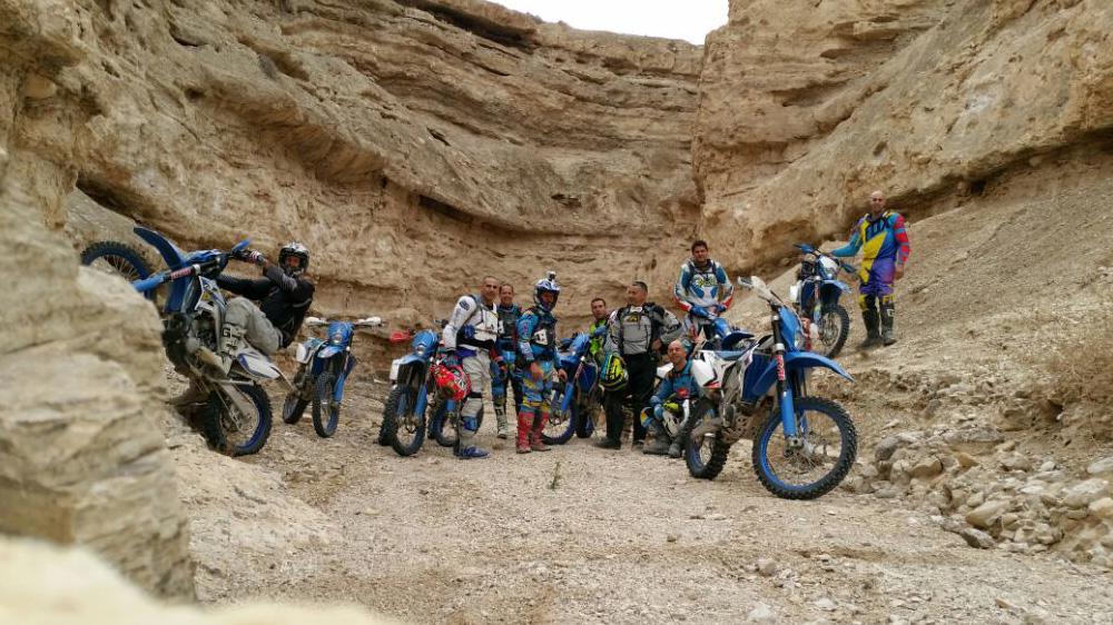 טיול מועדון TM RACING למדבר יהודה