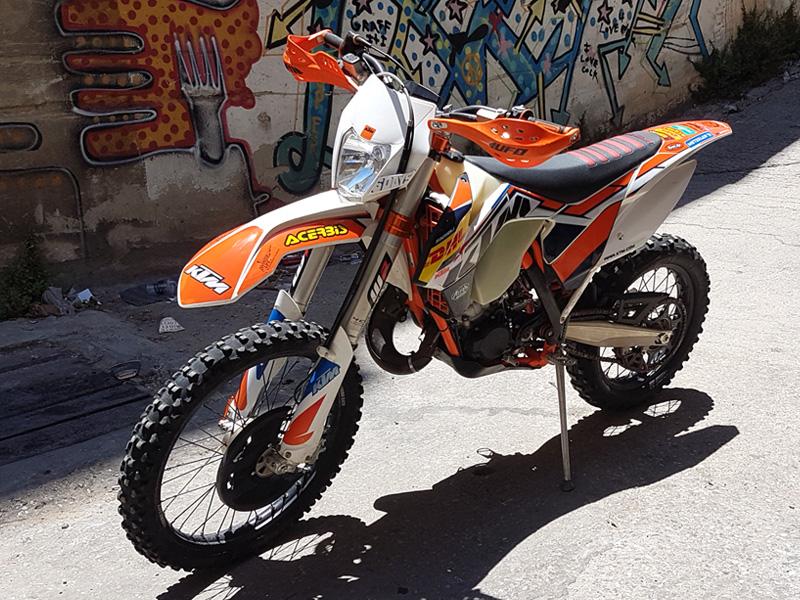 תמונה של KTM EXC 125 SIXDAYS